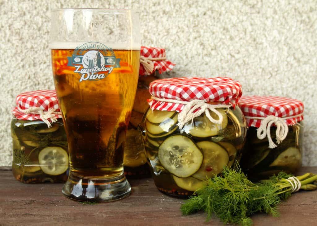 krastavčići u pivu zimnica recept